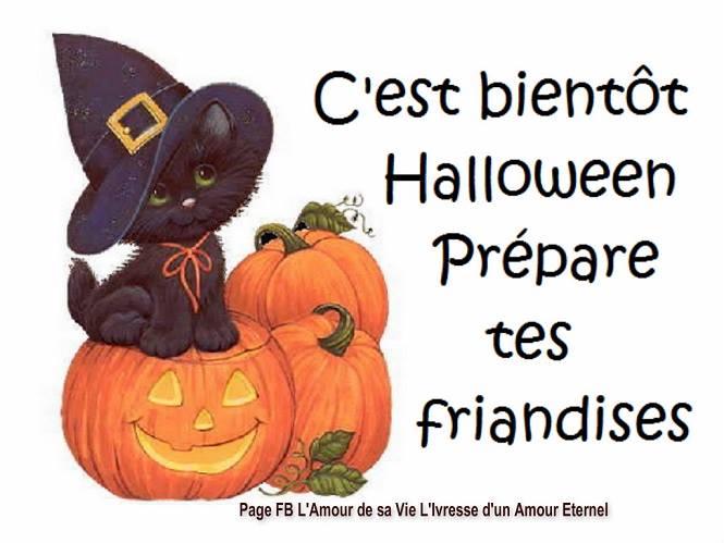 C'est bientôt Halloween, prépare tes friandises