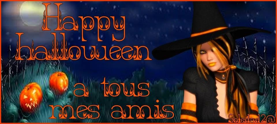 Happy Halloween à tous mes amis