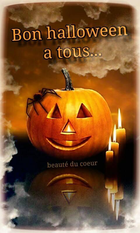 Bon halloween à tous...