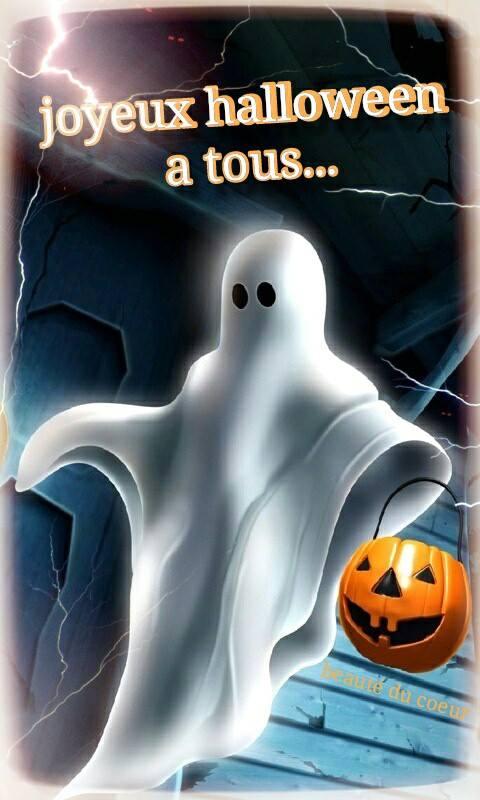 Joyeux halloween à tous...