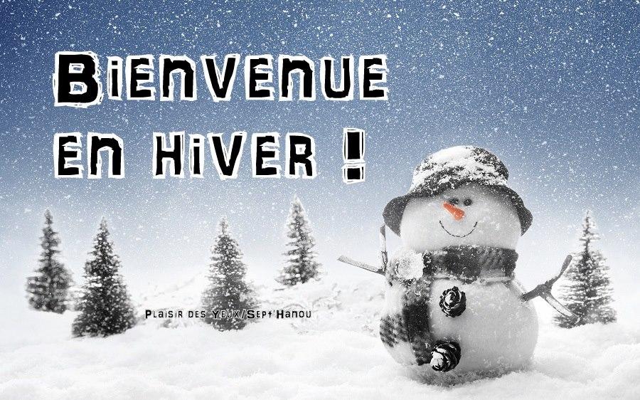 Bienvenue en Hiver !