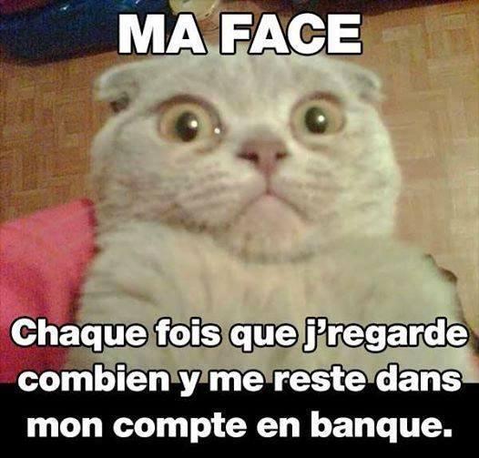 Ma face...