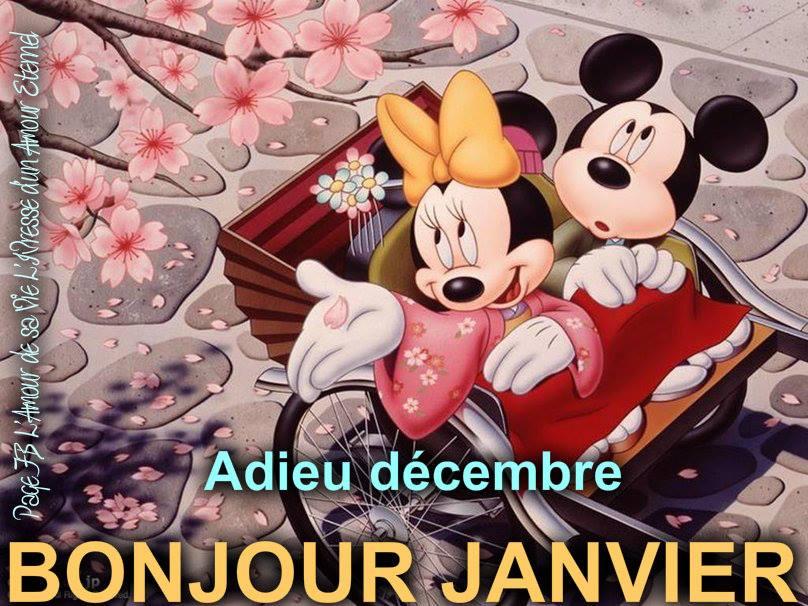 Adieu décembre, Bonjour janvier