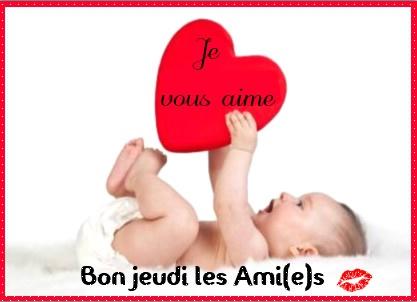 Bon jeudi les Ami(e)s