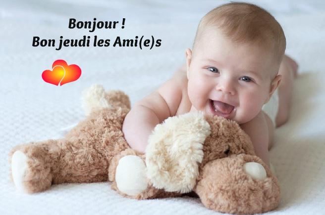 Bonjour ! Bon jeudi Ami(e)s