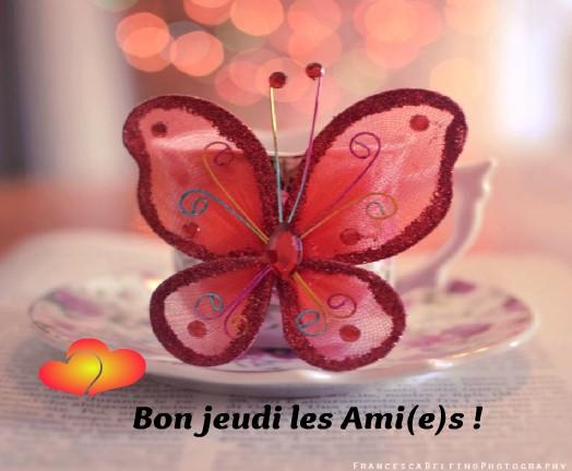 Bon jeudi les Ami(e)s !