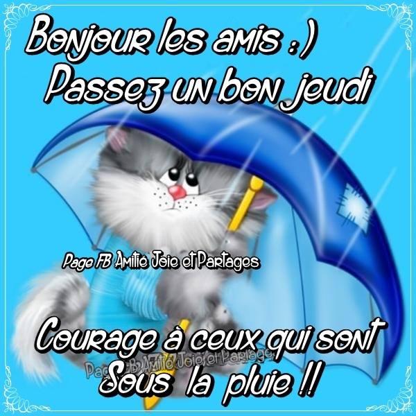 Bonjour les amis :) Passez un bon jeudi