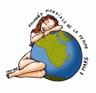 Journée Mondiale de la Femme, 8 mars