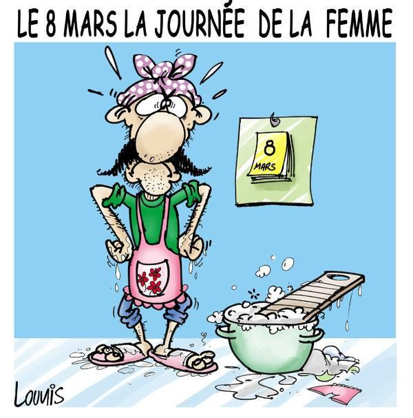 Le 8 Mars La Journée de la Femme