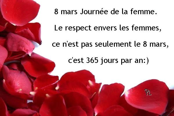 8 mars, Journée de la femme