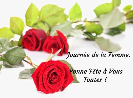 Gut gemocht Journée de la Femme. Bonne Fête à Vous Toutes ! image #5479  GF02