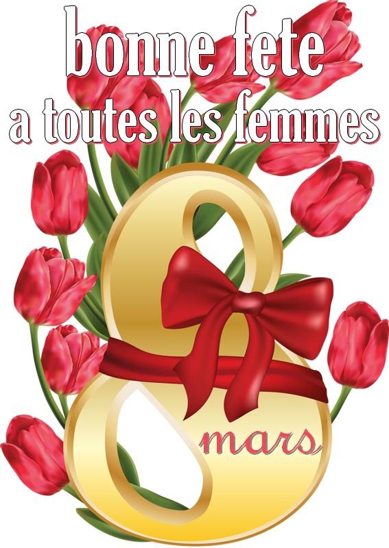 Relativ Bonne fête à toutes les femmes - 8 mars image #5516 - BonnesImages MJ04