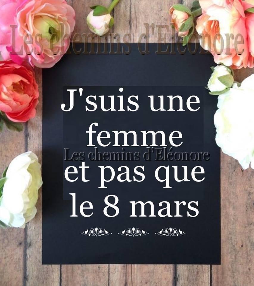 J'suis une femme et pas que le 8 mars
