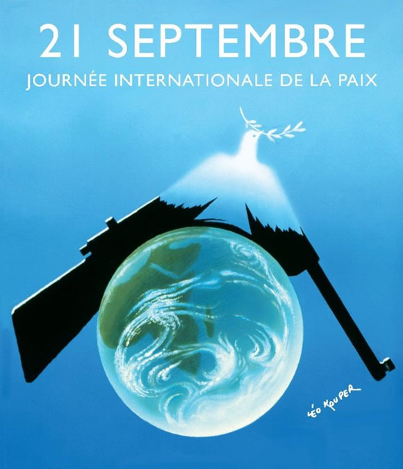 21 Septembre, Journée internationale de la paix