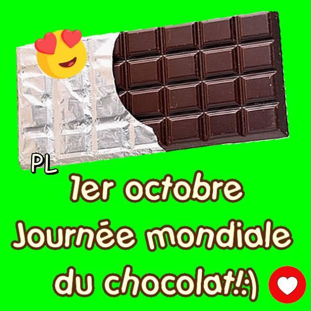 1er octobre - Journée mondiale du chocolat