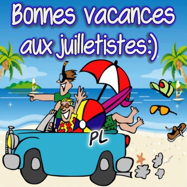 Bonnes vacances aux...