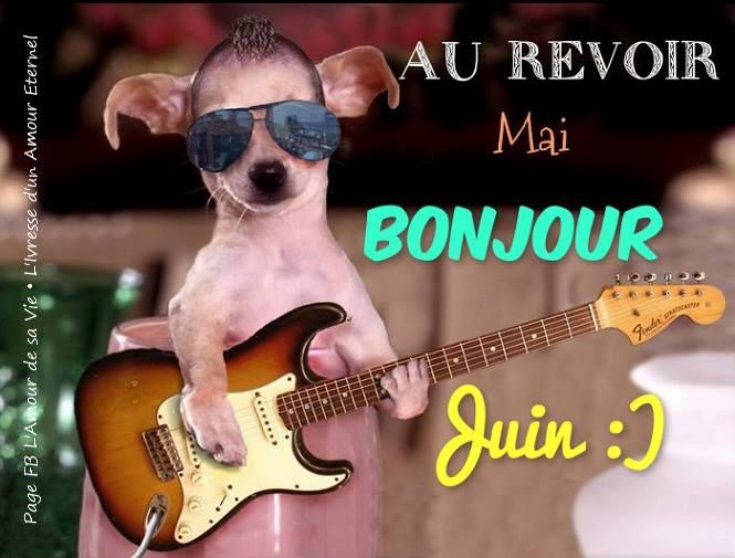 Au revoir Mai, Bonjour Juin :)