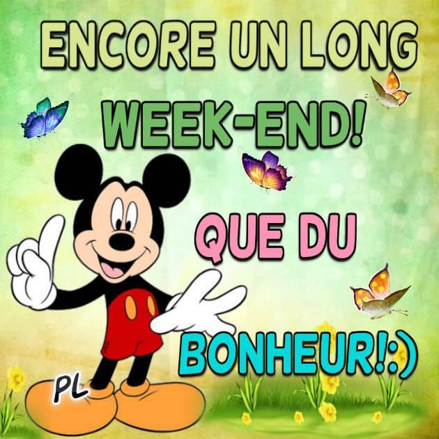 Encore un long week-end!