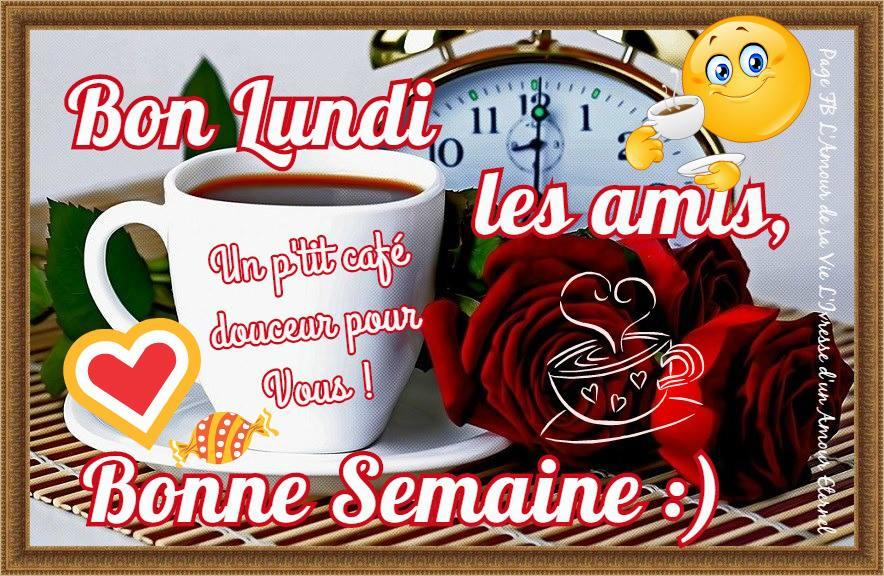 Bon Lundi les amis, un p'tit café douceur pour vous!