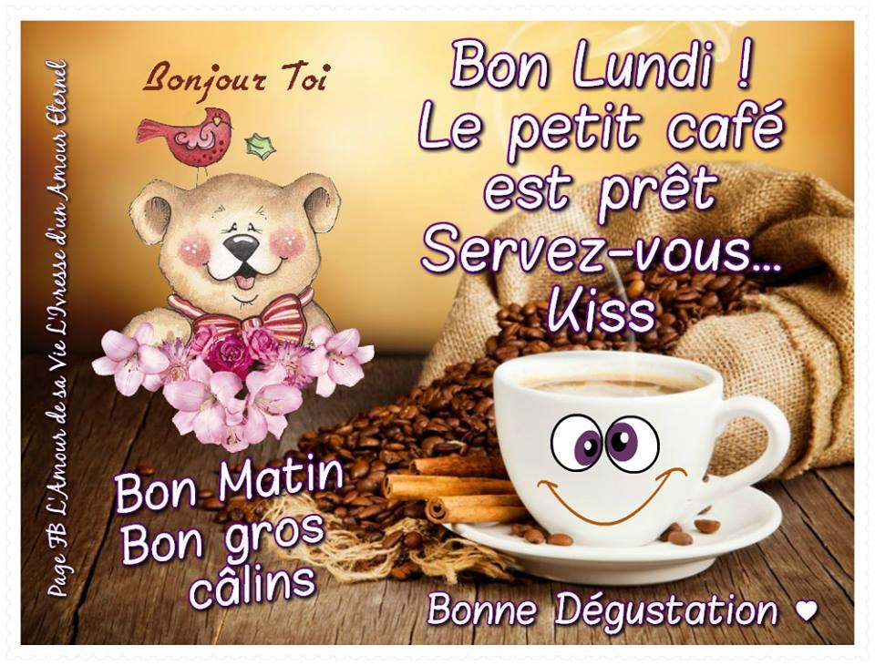 Bon Lundi ! Le petit café est prêt...
