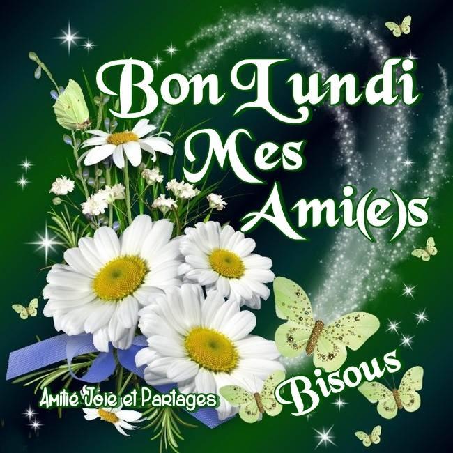 Bon Lundi mes Ami(e)s, Bisous