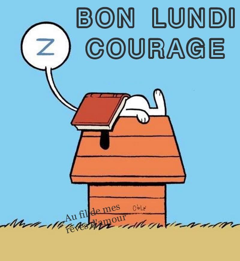 Bon Lundi, Courage
