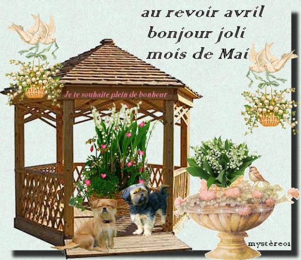 Au revoir avril, bonjour joli mois de Mai