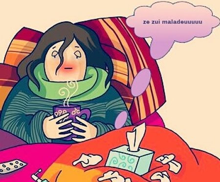 Malade images photos et illustrations pour facebook - Dessin malade ...