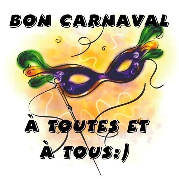 Bon Carnaval à toutes et à tous :)