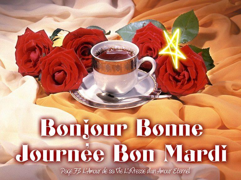 Bonjour, Bonne journée, Bon Mardi