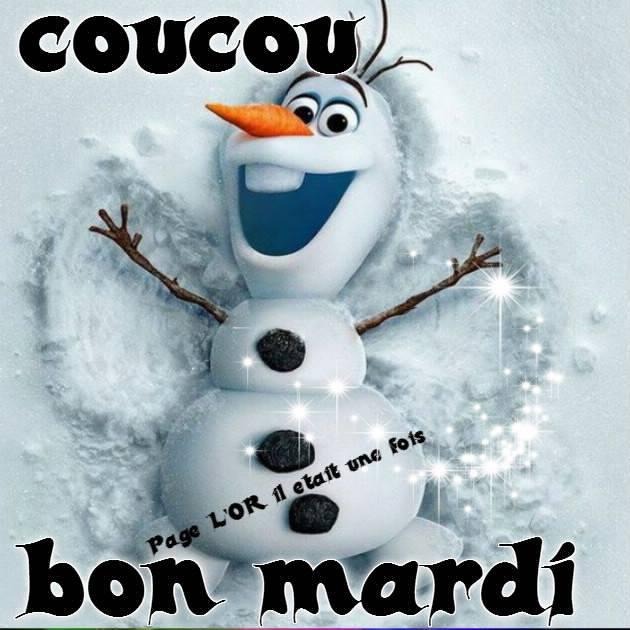 Coucou, Bon Mardi