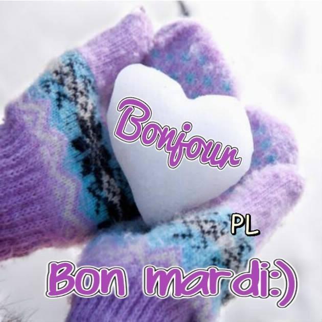 Bonjour, Bon Mardi :)