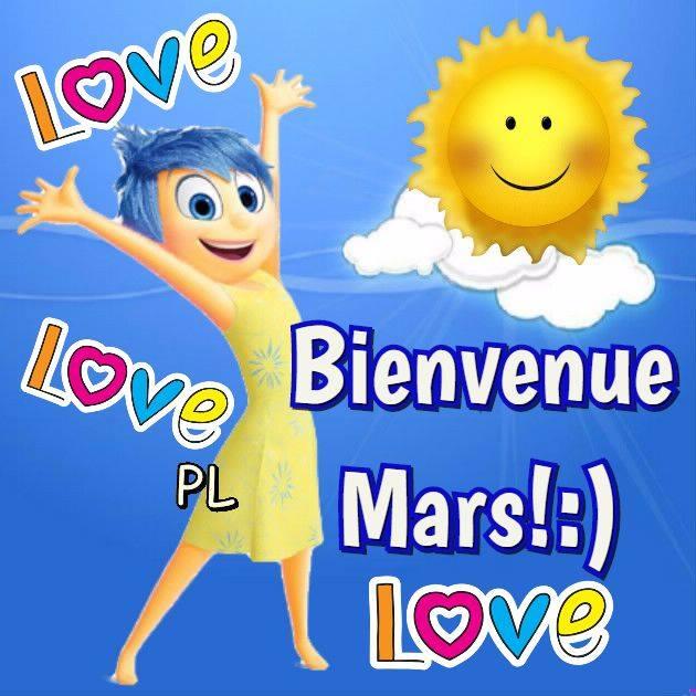 Bienvenue Mars! :)