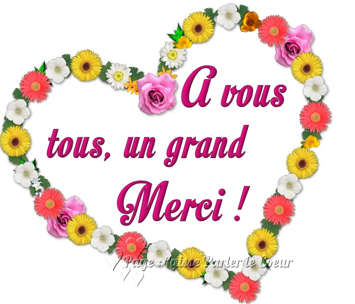 Merci images, photos et illustrations pour facebook