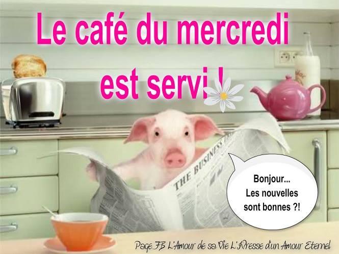 Le café du mercredi est servi!