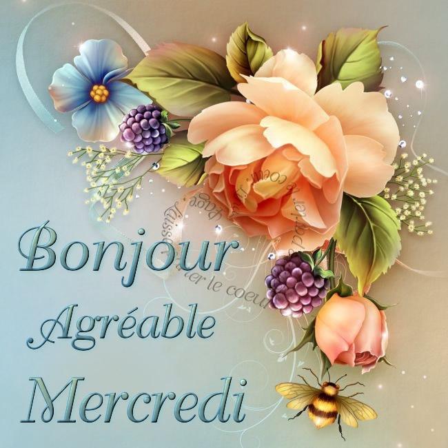 Bonjour, Agréable Mercredi