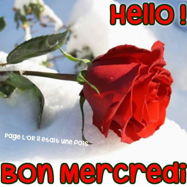Hello ! Bon Mercredi