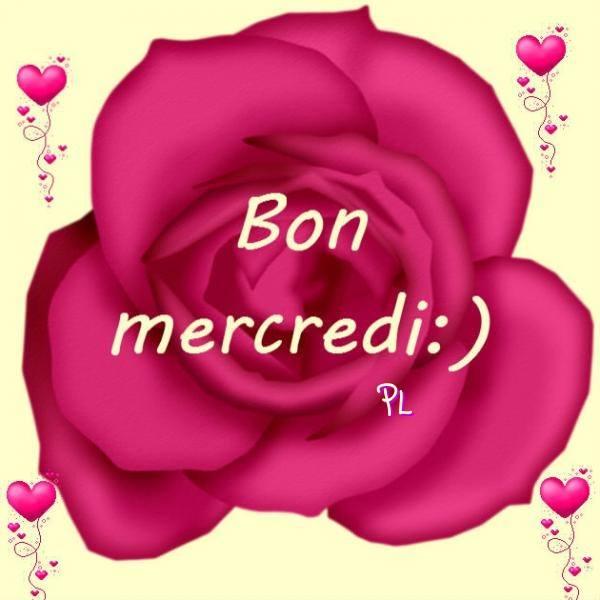 Bon mercredi <img src=