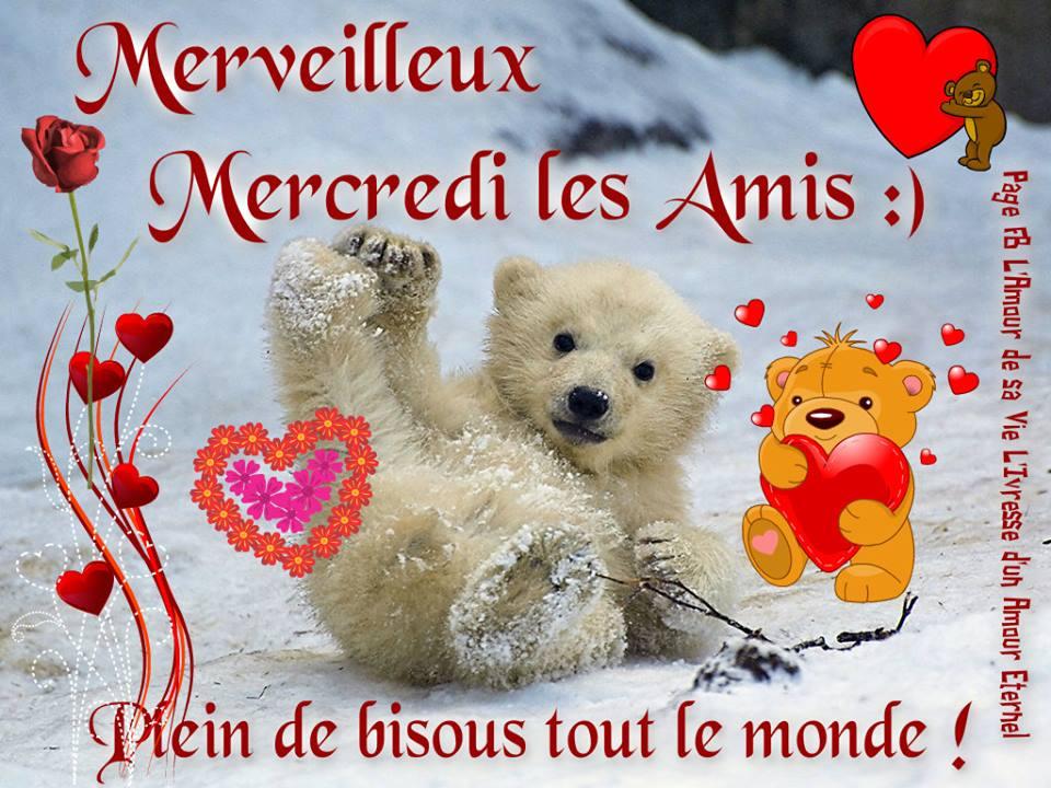 Merveilleux Mercredi les Amis :) Plein de bisous tout le monde !