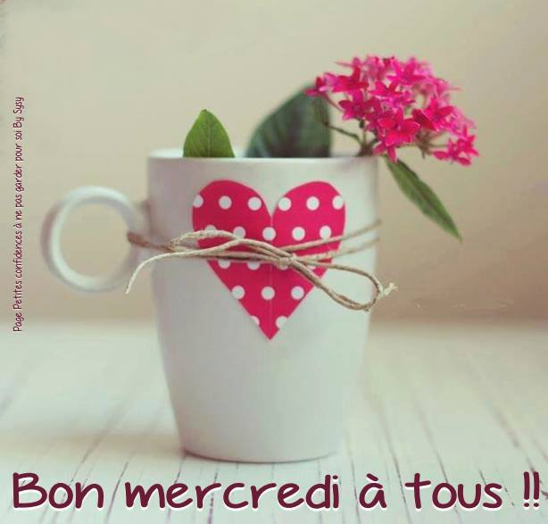 Bon mercredi à tous !!