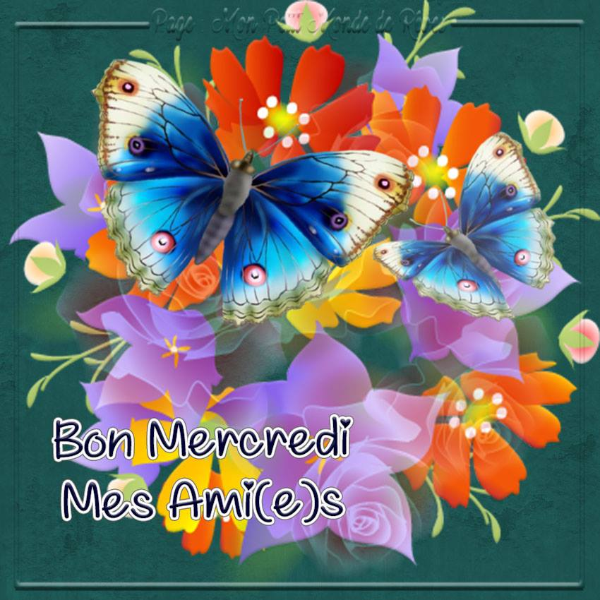 Bon Mercredi Mes Ami(e)s