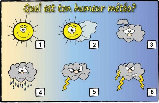 Quel est ton humeur météo?