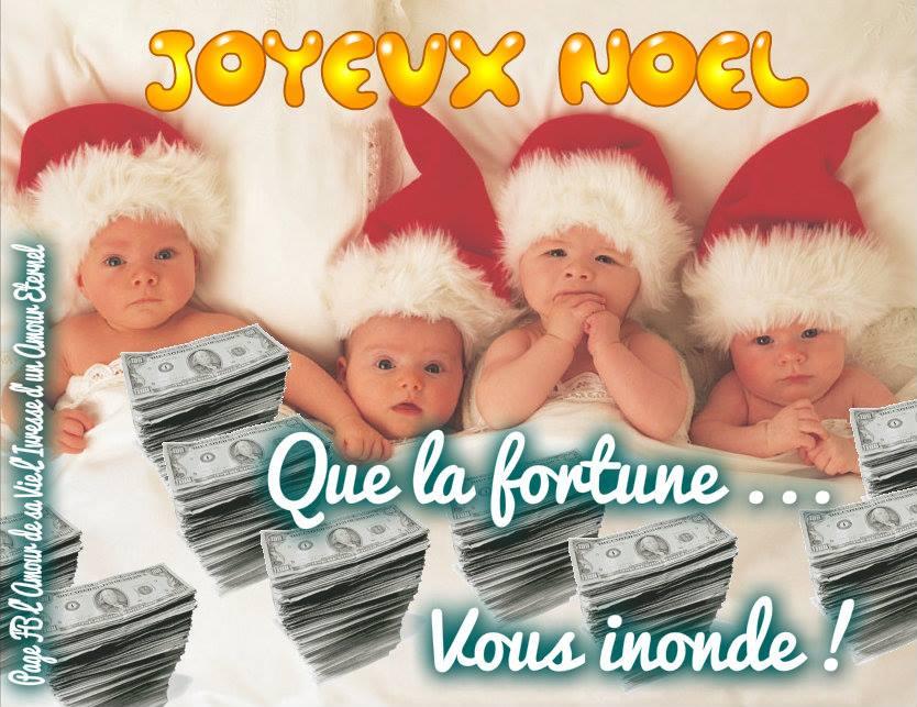 Joyeux Noël! Que la fortune... vous...