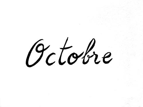 Octobre 13
