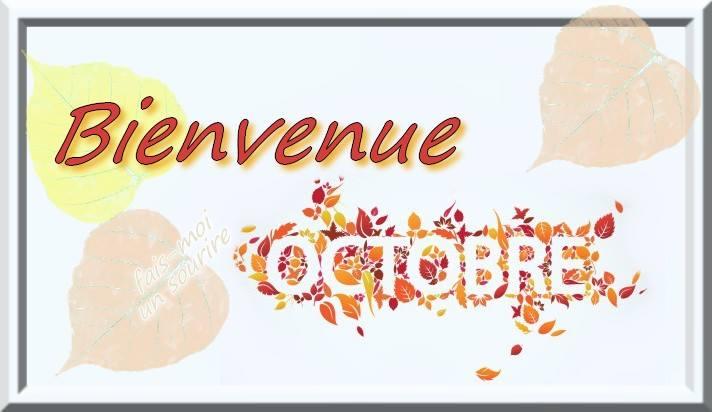 Bienvenue Octobre