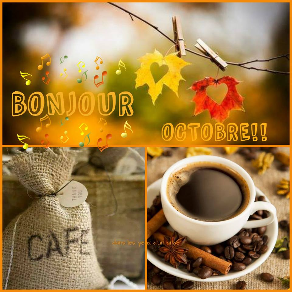 Bonjour Octobre!!