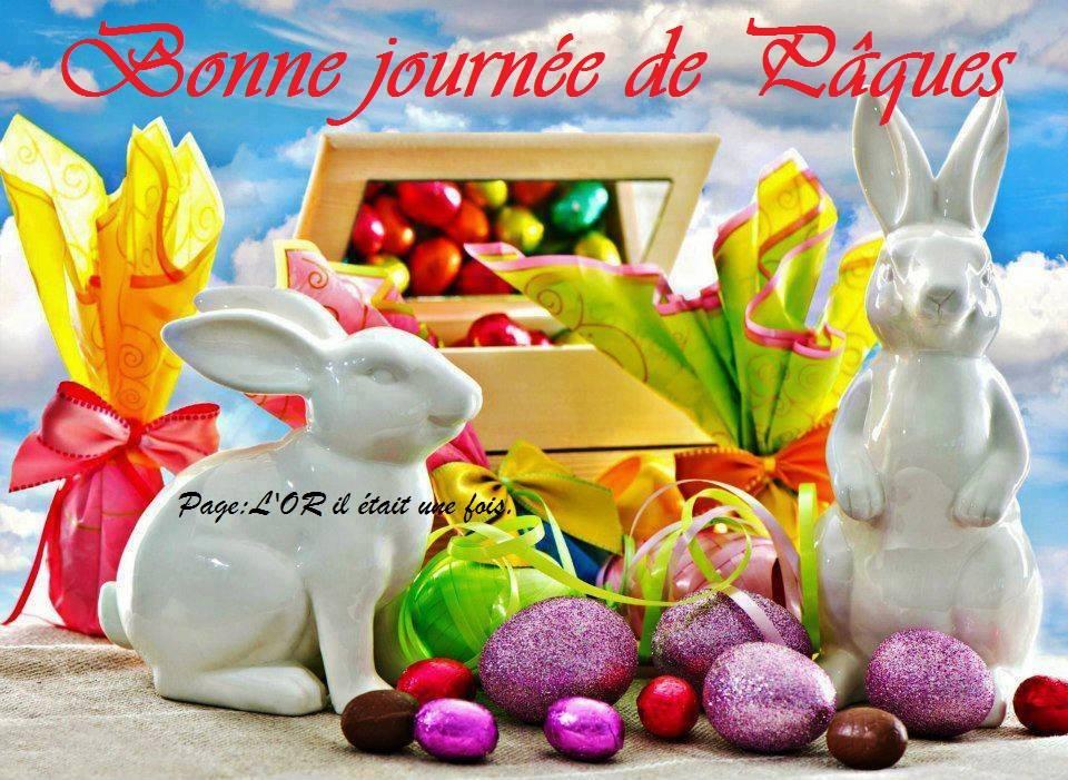 Bonne journée de Pâques