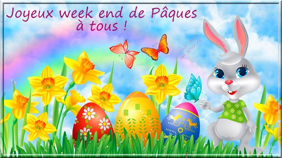 Joyeux week end de Pâques à tous !