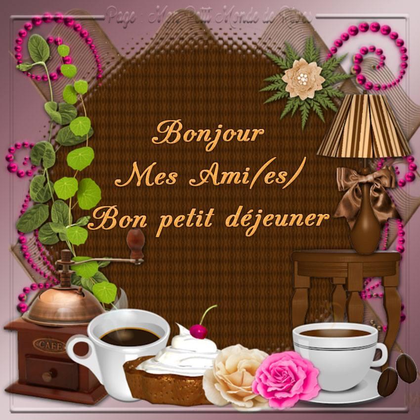 Bonjour mes ami(es), Bon petit déjeuner