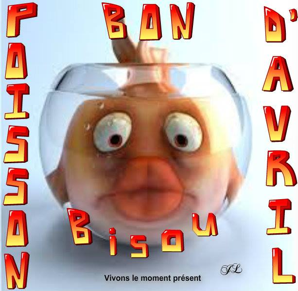 Bon Poisson d'Avril Bisou